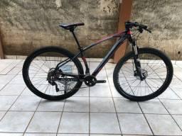 Bicicleta aro 29, 20V(deore e xt) susp. Rock shox freio a disco hidráulico