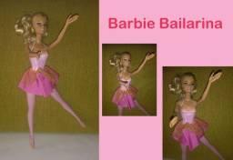 Boneca Antiga Barbie Bailarina - Referência 01