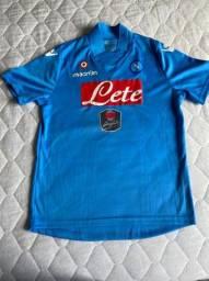 Camiseta de time Napoli oficial