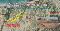 Venda de lotes na Praia do Coqueiro-PI