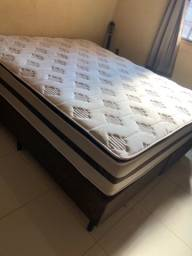 Título do anúncio: Vendo cama poucos meses de uso