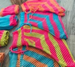 Título do anúncio: Conjunto tricot modal para você arrasar na praia, piscina. PROMOÇÃO!