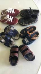 Título do anúncio: Sandálias / calçados infantis
