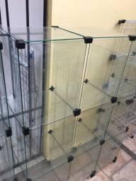 Armário de vidro gôndola