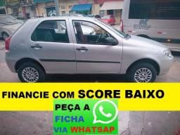 Fiat Palio Financie com score baixo 4 portas Flex - 2010