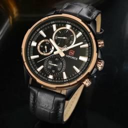 19fcf5e6494 Relógio masculino original Naviforce Lindíssimo exclusivo