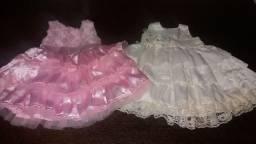 Vestidos de festa e sapatinhos menina