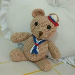 Ursinho Marinheiro em Crochê
