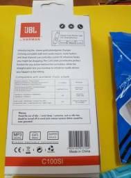 Fone de ouvido inova e jbl e carregador para celular inova - novos lacrados