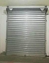 Porta aço enrolar loja, salão, bar 2,70x1,40 / nova