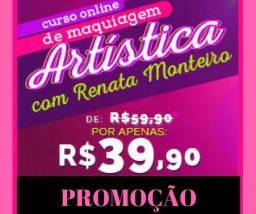 Maquiagem Artística - Curso Online de Maquiagem Artística
