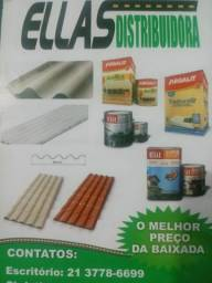 Telha PVC Plan 2,42x0,88 promoçao Black FRIDAY