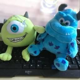 Mike e Sullivan Pelucia! Monstros S.A. Desenhos Personagens