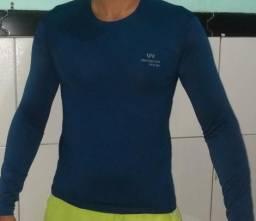 Camisas uv manga longa com proteção solar