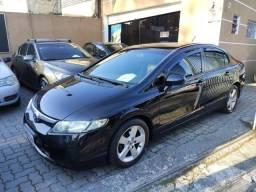Honda Civic 1.8 Lxs 2007 - Automático - Bancos De Couro - Entrada Zero + 60x 999 - 2007