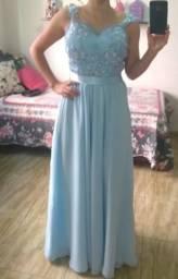 Vestido de Festa Azul Serenity
