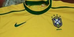 Camiseta Nike Seleção Brasileira 1998 (Oficial)