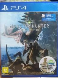 Monsters Hunter ps4