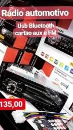 Som automotivo bluetooth radio fm mp3 mp4 player usb cartão sd mmc