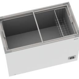 Freezer horizontal tampa de vidro 500 litros - Venax