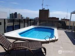 Flat com 1 dormitório à venda, 50 m² por R$ 235.000,00 - Cabo Branco - João Pessoa/PB