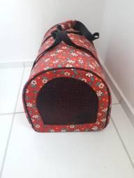 Caixa de transporte para cachorro ou gato