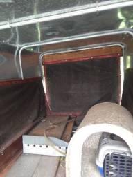 Carretinha reboque para carro - Emplacada - Coberta