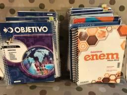 Coleção 30 livros Objetivo Pré Vestibular