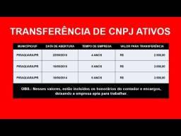 Transferência de CNPJ ativo