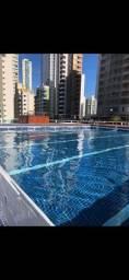 Loft locação até dezembro c academia e piscina de frente para o mar