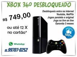 Xbox 360 Desbloqueado Super Slim (garantia total)