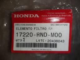 Elemento flitro de ar Original Honda