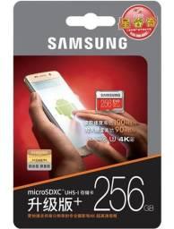Cartão de memória Samsung SD 256gb
