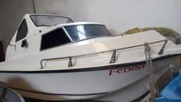 Título do anúncio: Lancha Marlin Gabinada com Motor 70hp