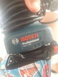 Lixadeira orbital bosch 220w 127v