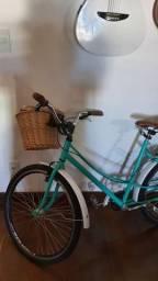 Bicicleta feminina Adulto,Retrô Vintage,Verde Aro 26