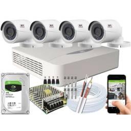 Instalação e Manutenção câmeras de segurança