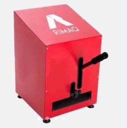 Máquina de chinelo Rimaq manual e automática