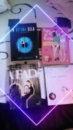 4 Livros semi novos