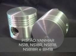 PISTÃO YANMAR NS18, NS18R, NSB18, NSB18R, BM18