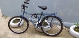 Título do anúncio: MONARK- Semi nova (azul) faço trocas em bicicletas do meu interesse