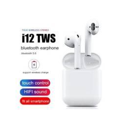 Título do anúncio: Fone de Ouvido Bluetooth i12 5.0 | Estilo Ipod Apple Carregador Iphone