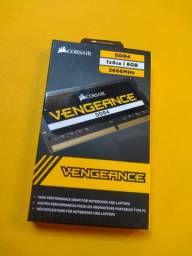 Memória RAM 8gb corsair Vengeance NOVA (para notebook 2666mhz ddr4)