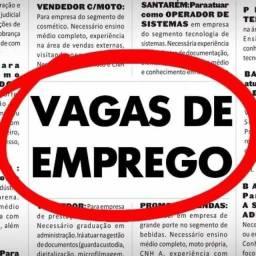VAGAS DE VENDEDOR INTERNO