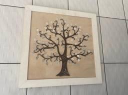 Quadro árvore prosperidade espelhada 80,00