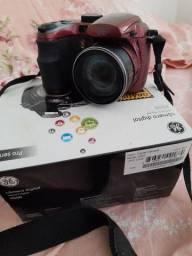 Câmera fotográfica digital semi profissional