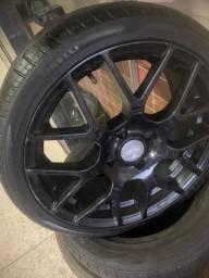 Roda 17 TSW top com pneu bons Pirelli Furcao 4x108 ford