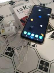 LG K52 SEMI NOVO (COMPLETO COM DOCUMENTO) aceito cartão!!
