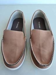 Sapato infantil masculino tam. 34 (novo)