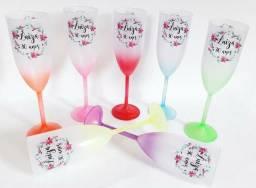 Taça de espumante copos personalizado atacado direto da fábrica